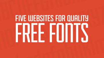 5 Creative Fonts for PowerPoint Presentation