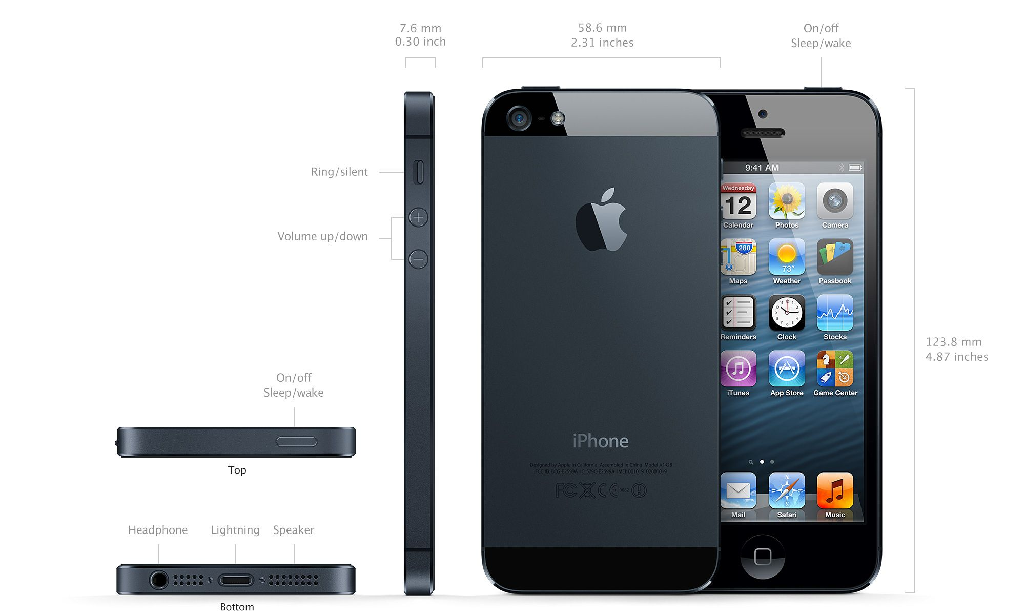 Iphone A6 Chip Iphone 5 Specs