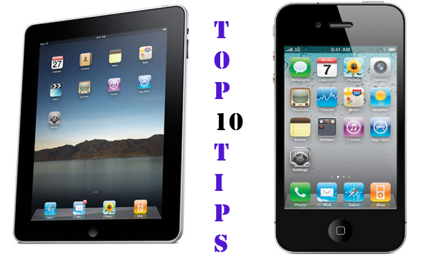 top-ten-ipad-iphone-tips